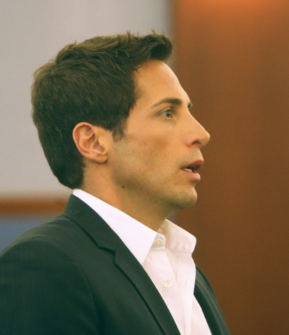 """Girls Gone Wild"" producer Joe Francis is arraigned on theft charges stemming from a $2 million gambling debt to Wynn Las Vegas in this May 18, 2011, file photo. (GARY THOMPSON/LAS VEGAS REVIEW-JO ..."