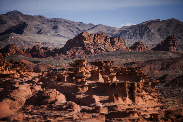 Little Finland, also known as Hobgoblin's Playground and Devil's Fire, is in the Gold Butte Region, about 2-1/2 hours east of Las Vegas. The area is administered by the BLM and the U.S. National P ...
