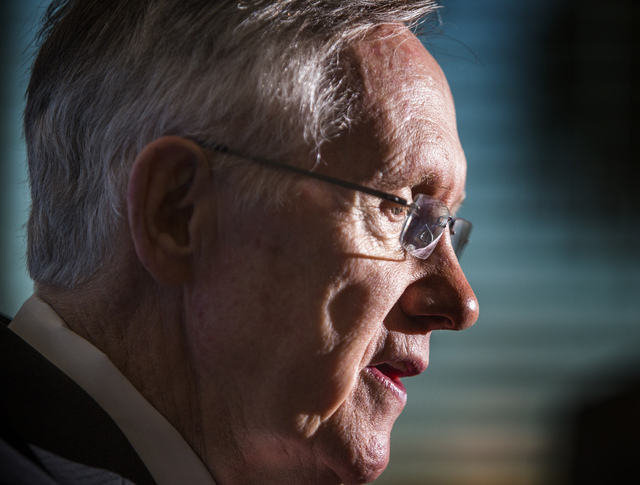The Clark County GOP has filed a complaint with federal election officials against U.S. Sen. Harry Reid, D-Nev., for asking corporations to donate money to Assemblywoman Lucy Flores, a Democrat ru ...
