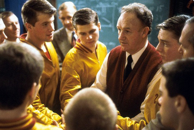 """""""Hoosiers"""" (Orion Pictures)"""
