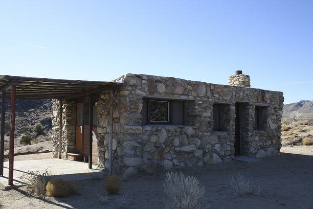 The Rock House, built in 1929 can be found along the Rock Spring Loop Trail in the Mojave National Preserve in Southern California. (Deborah Wall/Special to View)