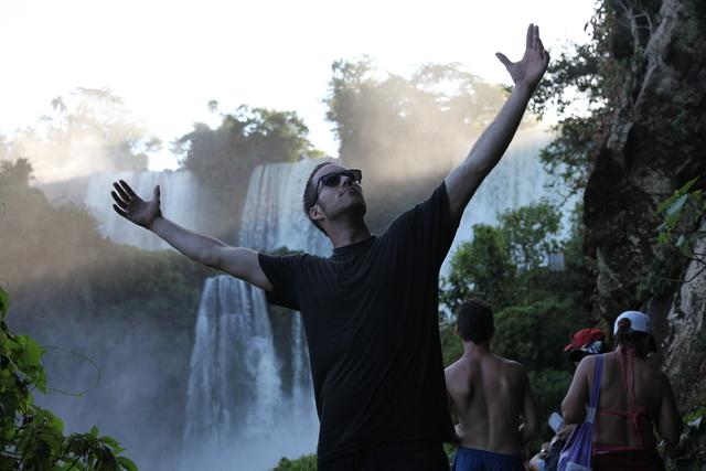 Matt Kendall at Iguana Falls.