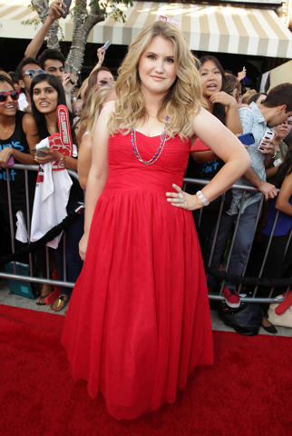 "Jillian Bell, a 2002 graduate of Bishop Gorman High School, is shown June 10 at the world premiere of  ""22 Jump Street: at The Regency Village Theatre in Westwood, Calif. (Photo by Eric Charb ..."