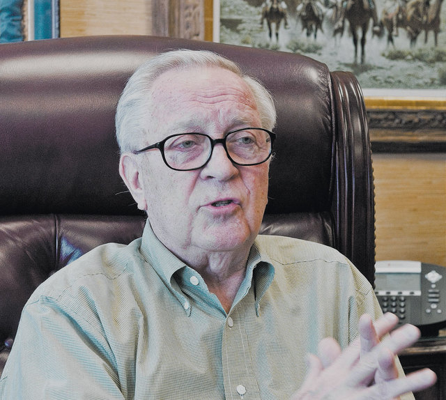 Media titan and education leader Jim Rogers, seen in 2010, died Saturday night after a long battle with cancer. He was 75. (Las Vegas Review-Journal file)