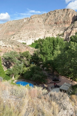 Kershaw Ryan State Park is two miles south of Caliente in the northern edge of Lincoln County's Rainbow Canyon.(Trevon Milliard/Las Vegas Review-Journal)
