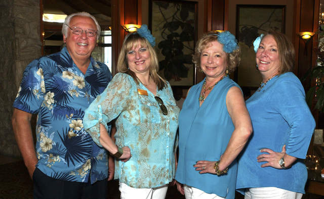 Garth Winckler, from left, Diane Zapach, Allison Newlon-Moser and Cathy Story (Marian Umhoefer/Las Vegas Review-Journal)