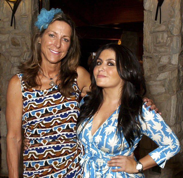 Melodi Choate, left, and Cindy Pino (Marian Umhoefer/Las Vegas Review-Journal)