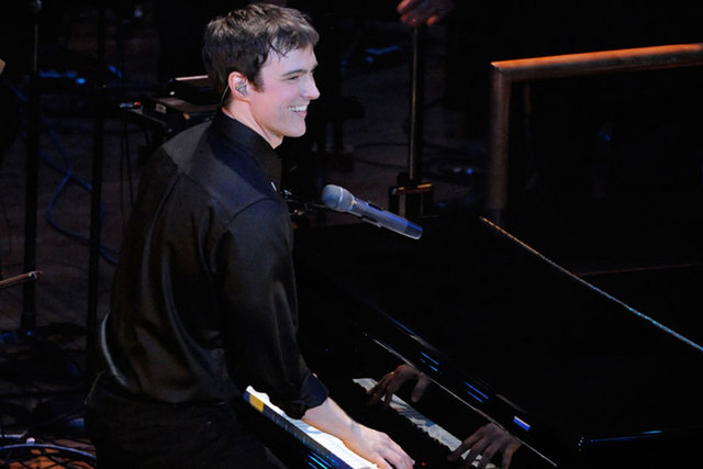 """Local Michael Cavanaugh, who was a dueling piano guy at New York-New York before Billy Joel chose him to star in """"Movin' Out"""" on Broadway, returns home for a Cabaret Jazz gig that features the mus ..."""