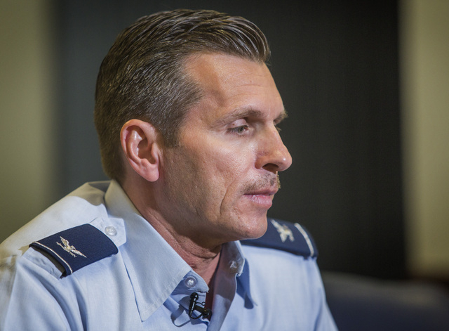"Nellis Air Force Base commander Col. Barry Cornish is leaving his post as the so-called ""mayor of Nellis"" for a new assignment at Hickam Air Force Base, Hawaii, a Nellis spokesman said Thursda ..."