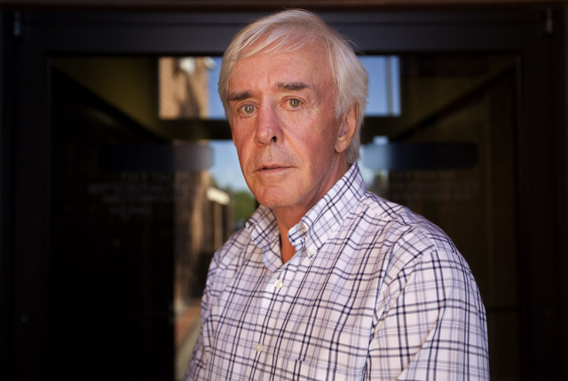 Bill Walters is photographed at the Review-Journal office in Las Vegas on Monday, Aug. 15, 2011. A federal insider-trading probe is looking at stock trader Carl Icahn, golfer Phil Mickelson, and W ...
