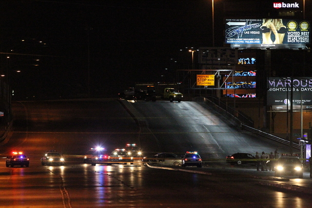 The Clark County coroner's office has identified the man killed in a shootout with Las Vegas police Friday night as Danny Michael Wadsworth Jr. The shooting took place on West Sahara Avenue near I ...
