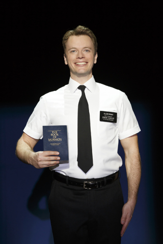 """The Book of Mormon"" opens Tuesday at The Smith Center for an almost-month run. (Courtesy/Joan Marcus)Book of Mormon Tour"