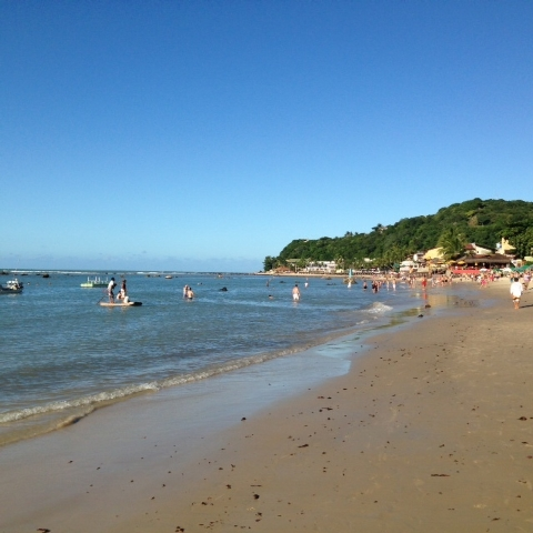 Praia da Pipa has pristine beaches backed by tall cliffs, dreamy lagoons, decent surfing, dolphin- and turtle-filled waters, global restaurants and good nightlife. (Brennan Karle)