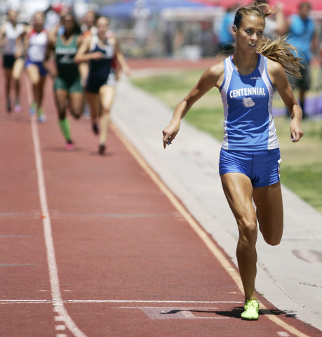 Centennial distance runner Sydney Badger compiled a long list of victories on her way to being selected the Review-Journal's Athlete of the Year. She won the Division I state cross country title ...