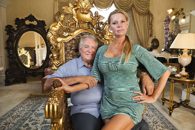 """David Siegel and his wife, Jackie, became infamous in the documentary, """"The Queen of Versailles."""" (Courtesy)"""