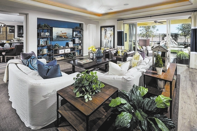 The Silverton is one of two model homes at Durango Trail in southwestern Las Vegas. (Courtesy)