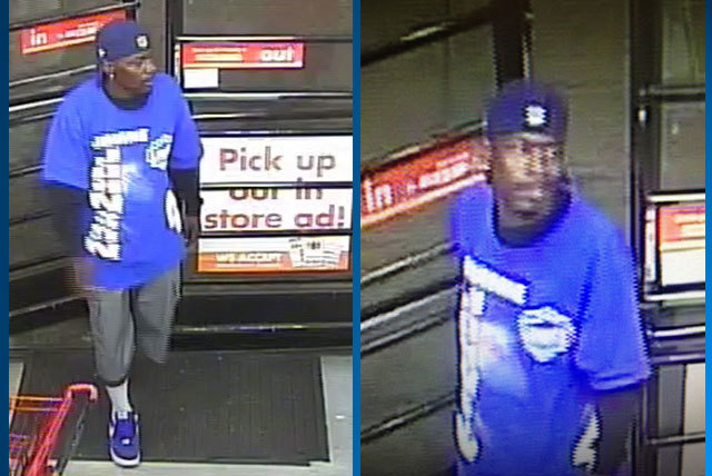 Las Vegas police are seeking this man in connection with a robbery on Friday at a business near Las Vegas Boulevard North and Cheyenne Avenue. (Courtesy/Las Vegas Metropolitan Police Department)