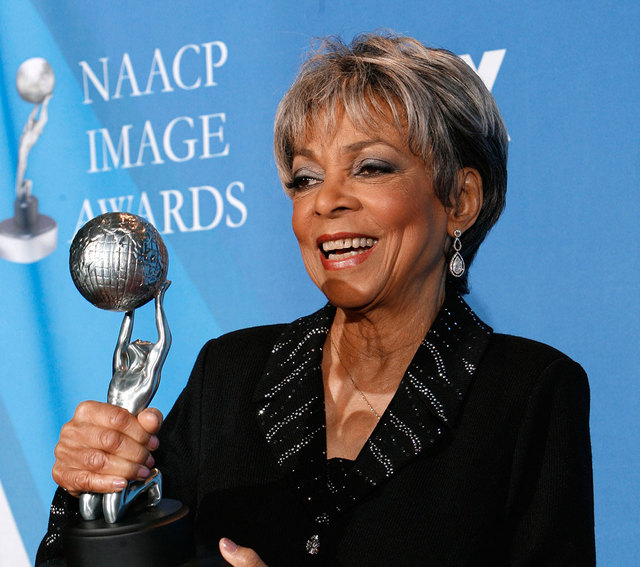 Ruby Dee received the Chairman's award at the 39th NAACP Image Awards, in Los Angeles on Feb. 14, 2008. Dee, an acclaimed actor and civil rights activist whose versatile career spanned stage, radi ...