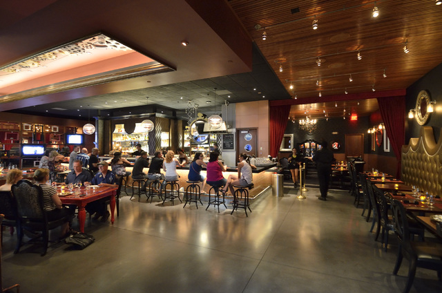 The interior of Rx Boiler Room is shown in the Shoppes at Mandalay Place at the Mandalay Bay hotel-casino at 3950 Las Vegas Blvd., South, in Las Vegas on Friday, June 13, 2014. (Bill Hughes/Las Ve ...