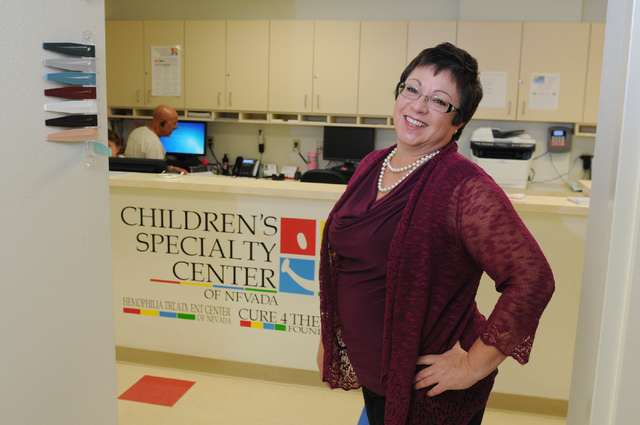 Annette Logan, president at Children's Specialty Center in Las Vegas, poses for a portrait at the center at 3121 S. Maryland Parkway in Las Vegas Monday, June 23, 2014. (Erik Verduzco/Las Vegas Re ...