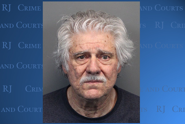 A photo provided by the Washoe County Jail is the booking photo of Wayne Paul Burgarello, 73, of Sparks,  Nev.   Burgarello was areested on Tuesday, May 27, 2014, on suspicion of murder and attemp ...