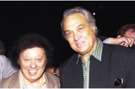 Marty Allen, left, and Steve Rossi, the comedy team of Allen & Rossi. (Courtesy)