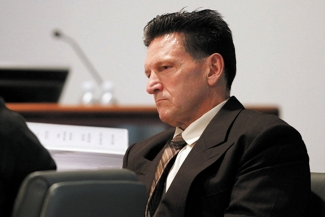 Family Court Judge Steven Jones. (John Locher/Las Vegas Review-Journal)