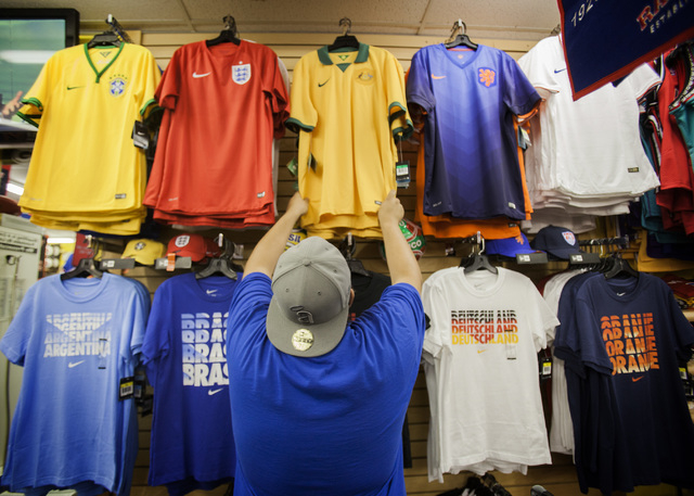 Sports clothing stores las vegas