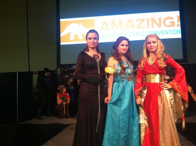 "A group of Game of Thrones cosplayers took home the ""Best in Show"" prize during the costume contest at the Amazing Las Vegas Comic Con. (ASHLEY CASPER, LAS VEGAS REVIEW-JOURNAL)"