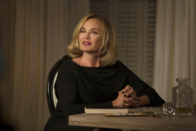 """Jessica Lange plays Fiona in """"American Horror Story: Coven."""" Lange was nominated for an Emmy Award for best actress in a miniseries or movie on Thursday, July 10, 2014. The 66th Primetime Emmy Awa ..."""