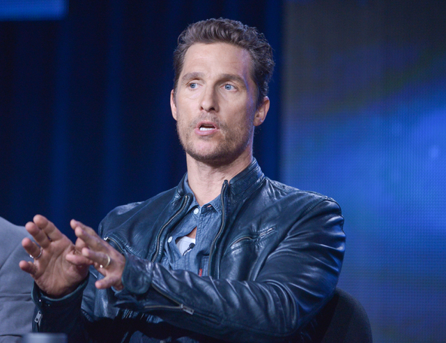 """Academy Awards best-actor winner Matthew McConaughey (""""Dallas Buyers Club"""") is a Emmy nominee for HBO's """"True Detective.""""  (Photo by Richard Shotwell Invision/AP, File)"""