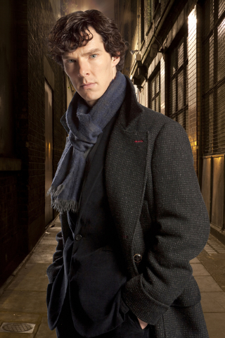 """Benedict Cumberbatch portrays Sherlock Holmes in """"Sherlock."""" Cumberbatch was nominated for an Emmy Award for best actor in a miniseries or movie for """"Sherlock: His Last Vow,"""" on Thursday, July 10, ..."""