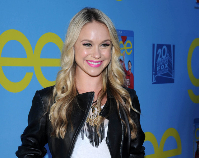 "Becca Tobin posing on the red carpet for the season four premiere screening of ""Glee,"" in the Hollywood section of Los Angeles. Matt Bendik, the boyfriend of Glee star Becca Tobin, has been found  ..."
