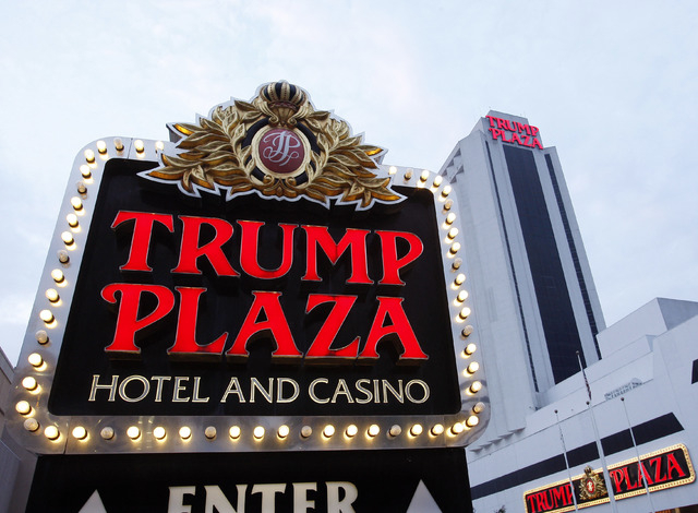 This Tuesday, Oct. 12, 2010 file photo shows  the Trump Plaza Hotel Casino  in Atlantic City, N.J.  The owners of the Trump Plaza casino in Atlantic City say they expect to shut it down in mid-Sep ...