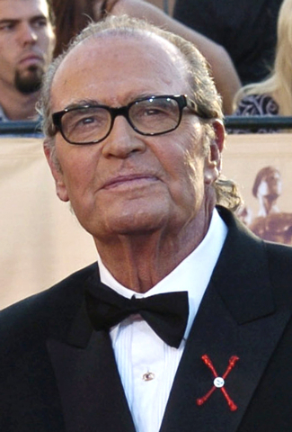 "In this Feb.  5, 2005 file photo, James Garner, arrives for the 11th annual Screen Actors Guild Awards in Los Angeles. Actor James Garner, wisecracking star of TV's ""Maverick"" who went on to a lon ..."