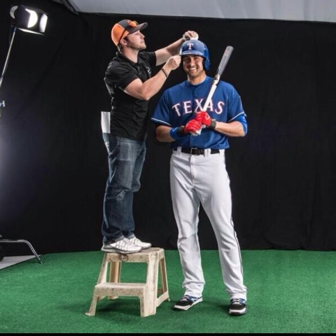 """Joey Gallo, the former Bishop Gorman star, is now a Texas Rangers farmhand and """"generates more pop from his left-handed swing than anyone,"""" Yahoo sports columnist Jeff Passan wrote."""