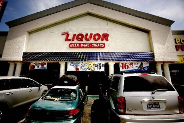 Jeffrey Nowak and Ramzi Suliman, the owners of several Super Liquor stores were indicted by a federal grand jury in a tax evasion scheme. The store shown here, Super Liquor South Strip, is at 3999 ...