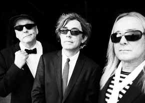 Cheap Trick with Rick Nielsen, left, Tom Petersson and Robin Zander.