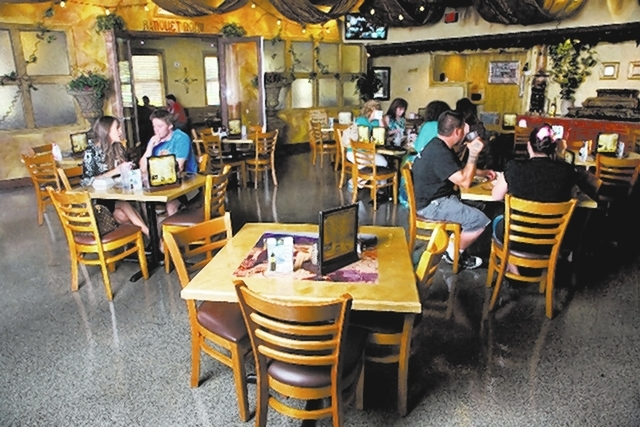 Service throughout was fine at the Market Grille Cafe, with earnest young people serving earnestly if not without the occasional flaw, which is easy to forgive when the intentions are right. (File ...