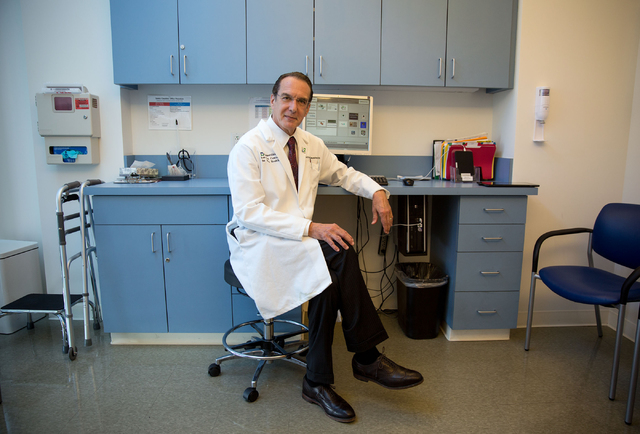 Doctor Jeffrey Cummings, director of The Cleveland Clinic Lou Ruvo Center for Brain Health, poses at the center Tuesday, July 1, 2014. Cummings released a study that shows 99.6 percent of clinical ...