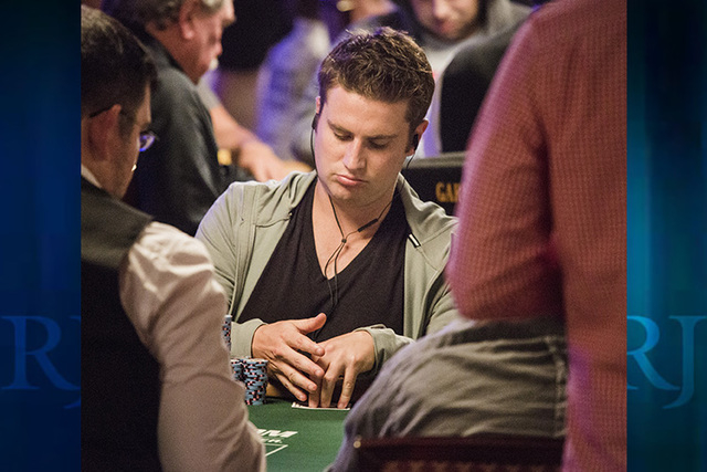 Isaac Baron (Jeff Scheid/Las Vegas Review-Journal)