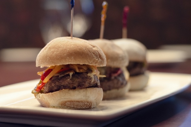 Angus beef sliders are on the new bar menu at Panevino Bar & Lounge, 246 Via Antonio Ave. (Special to View)
