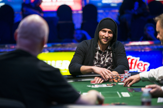 Largely unknown before this summer, poker player Brandon Shack-Harris has earned $1.4 million and has four top-three finishes this year. (Courtesy)