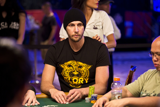 Poker player Brandon Shack-Harris has earned $1.4 million and has four top-three finishes this year. (Courtesy)