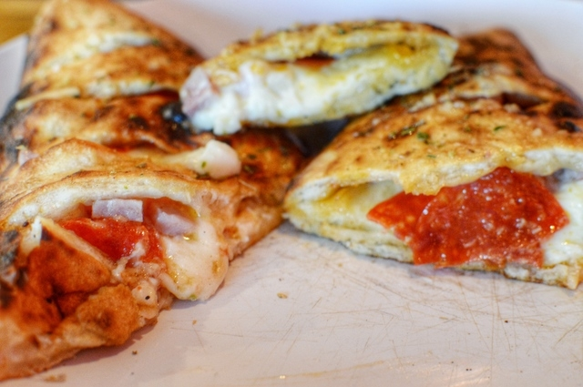 Novecento Pizzeria, which also has a northwest Las Vegas location at 5705 Centennial Center Blvd., Suite 170, also offers custom calzones. (Fernando Lopez/Special to View)