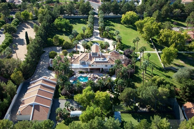 Courtesy photo The 10-acre Primm estate on 7000 Tomiyasu Lane includes three houses, driving range, greenhouse, horse stables and a large-dog area. The Primm family placed the property back on the ...
