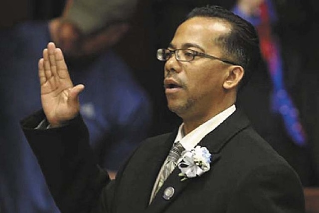 Former Nevada legislator Steven Brooks has been ordered to two years and eight months in California prison. (File photo)