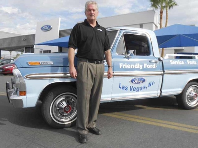 Friendly Ford Las Vegas >> Service Director Has Called Friendly Ford Home For 35 Years