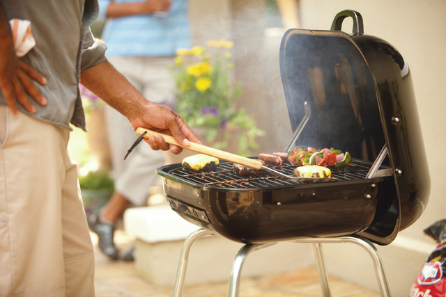 Courtesy Home Depot Most fans of charcoal maintain that their grills cook more-flavorful food because of the smoky taste from the coals.