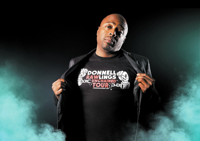"""On Saturday, Donnell Rawlings will headine two nighttime shows at Aliante casino with comics Jeff Dye, Tanisha Long and Esther Ku from Rawlings' buzzy MTV2 show, """"Guy Code"""" and its companion show  ..."""